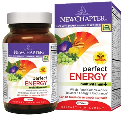 DROPPED: New Chapter - Perfect Energy Whole-Food Multivitamin - 36 Tablets