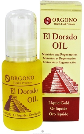 DROPPED: Orgono - El Dorado Chia Seed Oil Liquid Gold Oil - 1.7 oz (50 ml) - CLEARANCE PRICED