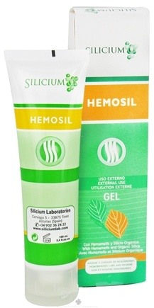 DROPPED: Silicium - Hemosil Hemorrhoid Gel - 3.4 oz (100 ml)