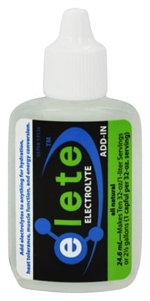Elete - All Natural Electrolyte Add-In Pocket Bottle - 24.6 ml.
