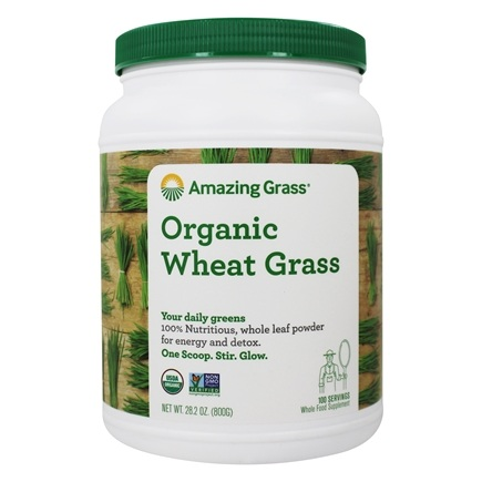 Amazing Grass - Wheat Grass Powder Value Size 100 Servings - 28 oz. LUCKY PRICE