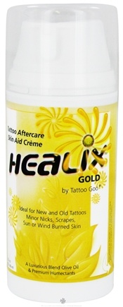 DROPPED: Tattoo Goo - Healix Gold Tattoo Aftercare Skin Aid Cream - 3.5 oz.