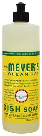 Mrs. Meyer's - Clean Day Liquid Dish Soap Honeysuckle - 16 oz.