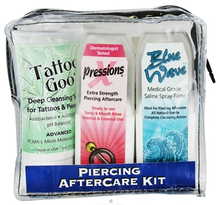 DROPPED: Tattoo Goo - Piercing Aftercare Kit - 3 Piece(s) CLEARANCE PRICED