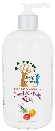 DROPPED: Loving Naturals - Hand & Body Lotion Lavender & Grapefruit - 16 oz.