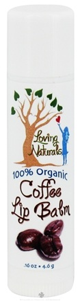 DROPPED: Loving Naturals - 100% Organic Lip Balm Coffee - 0.16 oz. CLEARANCE PRICED