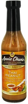 DROPPED: Annie Chun's - Gourmet Asian Sauce Thai Peanut - 9.2 oz. CLEARANCE PRICED