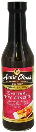 DROPPED: Annie Chun's - Gourmet Asian Sauce Shiitake Soy Ginger - 9.7 oz. CLEARANCE PRICED
