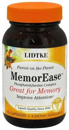 DROPPED: Lidtke Technologies - MemorEase Phosphatidylserine Complex - 60 Capsules CLEARANCE PRICED