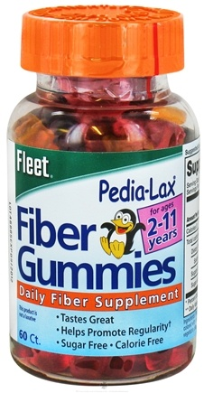 DROPPED: C.B. Fleet Co., Inc. - Fleet Pedia-Lax Fiber Gummies for Ages 2-11 years - 60 Gummies