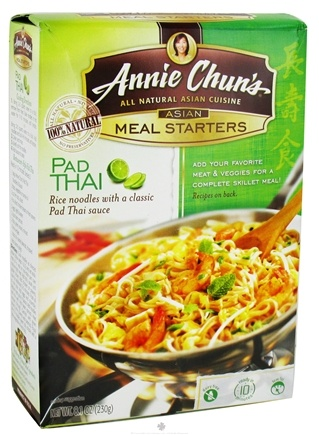 DROPPED: Annie Chun's - Asian Meal Starters Pad Thai - 8.1 oz. CLEARANCE PRICED