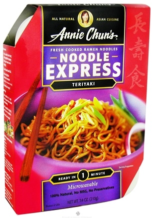 DROPPED: Annie Chun's - Noodle Express Teriyaki - 7.4 oz. CLEARANCE PRICED