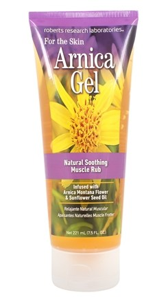 Roberts Research Laboratories - Arnica Gel For The Skin - 7.5 oz.