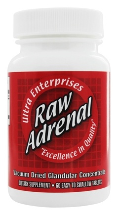 Ultra Enterprises - Raw Adrenal 200 mg. - 60 Tablets