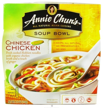 DROPPED: Annie Chun's - Soup Bowl Chinese Chicken - 5.5 oz. CLEARANCE PRICED