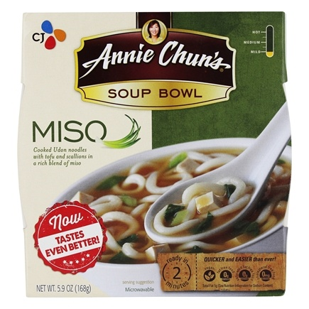 DROPPED: Annie Chun's - Soup Bowl Miso - 5.4 oz.