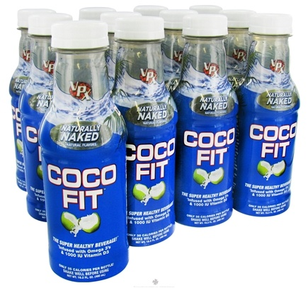 DROPPED: VPX - Coco Fit Super Healthy Beverage Coconut Water Naturally Naked - 16.2 oz.