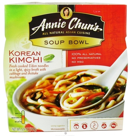 DROPPED: Annie Chun's - Soup Bowl Korean Kimchi - 5.9 oz. CLEARANCE PRICED