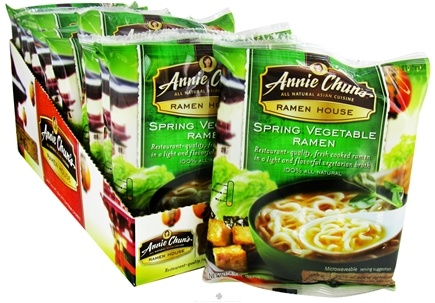 DROPPED: Annie Chun's - Ramen House Spring Vegetable Ramen - 4.9 oz. CLEARANCE PRICED
