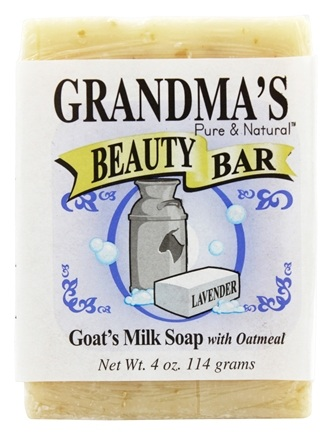 DROPPED: Remwood Products Co. - Grandma's Pure & Natural Beauty Bar Lavender/Oatmeal - 4 oz.