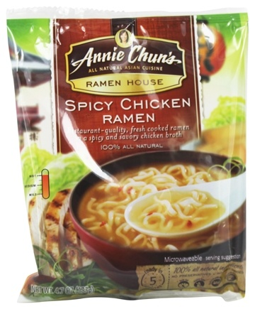 DROPPED: Annie Chun's - Ramen House Spicy Chicken Ramen - 4.7 oz.