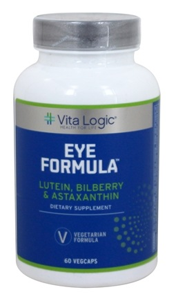 DROPPED: Vita Logic - Eye Formula - 60 Vegetarian Capsules