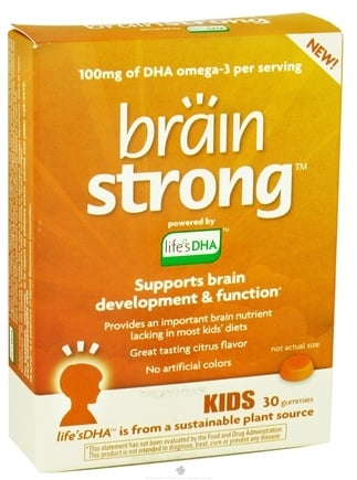DROPPED: Amerifit Brands - BrainStrong Kids DHA - 30 Gummies