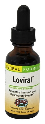 Herbs Etc - Loviral Professional Strength - 1 oz.