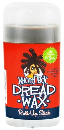 DROPPED: Knotty Boy - Dread Wax Roll-Up Stick Dark Hair - 2.25 oz. CLEARANCE PRICED