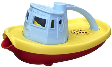 DROPPED: Green Toys - My First Tugboat 6 months+ Blue - CLEARANCE PRICED