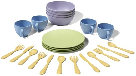 DROPPED: Green Toys - Dish Set Ages 2+ - CLEARANCE PRICED