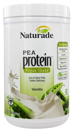 Naturade - Pea Protein Powder Vanilla - 15.66 oz.