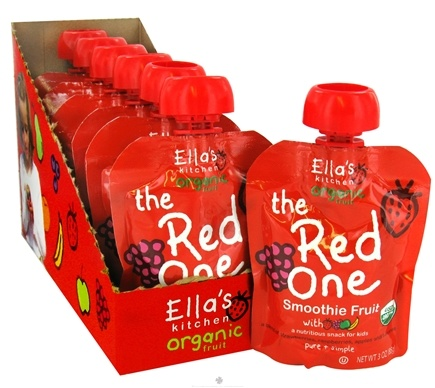 DROPPED: Ella's Kitchen - The Red One Smoothie Fruit - 3 oz. CLEARANCE PRICED