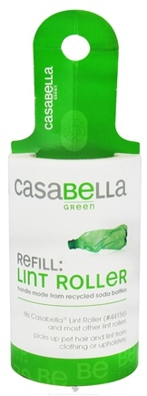 DROPPED: CasaBella Green - Eclipse Lint Roller Refill - 70 Sheet(s) CLEARANCE PRICED