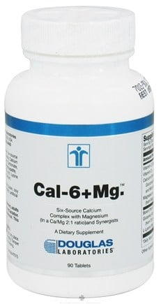 DROPPED: Douglas Laboratories - Cal-6 + Mg. - 90 Tablets
