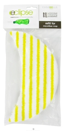 DROPPED: CasaBella Green - Eclipse Microfiber Mop Refill - CLEARANCE PRICED