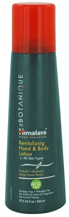 DROPPED: Botanique by Himalaya - Hand & Body Lotion Revitalizing For All Skin Types - 6.76 oz. Formerly Organique by Himalaya