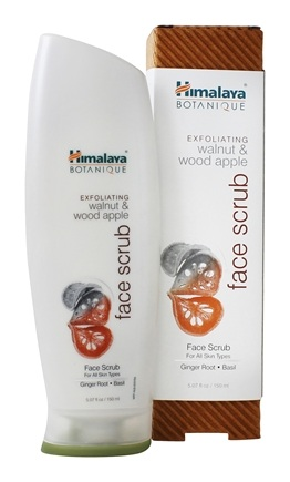 Botanique by Himalaya - Face Scrub Exfoliating Walnut & Wood Apple - 5.07 oz. Formerly Organique by Himalaya