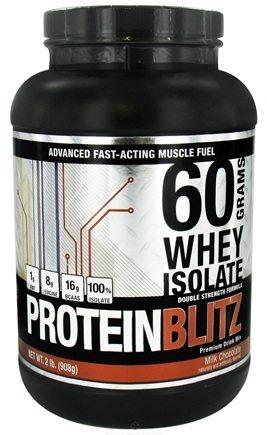 DROPPED: Designer Protein - Designer Whey Protein Blitz 60 Grams Whey Isolate Milk Chocolate - 2 lbs. CLEARANCE PRICED