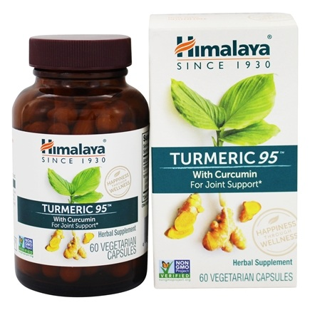 Himalaya Herbal Healthcare - Turmeric Antioxidant & Joint Support - 60 Capsules