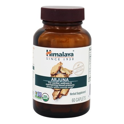 Himalaya Herbal Healthcare - Arjuna Cardiac Support - 60 Caplets