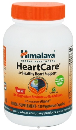 DROPPED: Himalaya Herbal Healthcare - HeartCare Abana for Healthy Heart Support - 120 Vegetarian Capsules CLEARANCE PRICED
