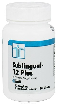 DROPPED: Douglas Laboratories - Sublingual 12 Plus - 90 Tablets