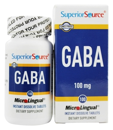 Superior Source - GABA Instant Dissolve - 100 Mini-Tab(s)
