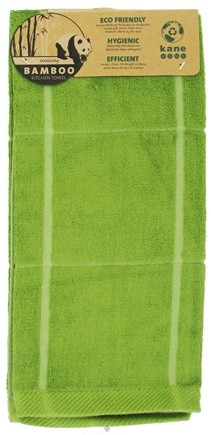 DROPPED: Kane Industries - Bamboo Box Sheared Kitchen Towel Olive Green