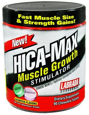 DROPPED: Labrada - Hica-Max Muscle Growth Stimulator - 90 Chewable Tablets CLEARANCE PRICED