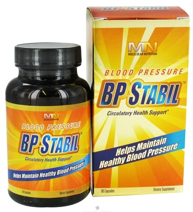 DROPPED: Molecular Nutrition - BP Stabil - 90 Capsules