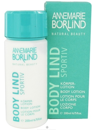 DROPPED: Borlind of Germany - Annemarie Borlind Natural Beauty Body Lind Sportiv Body Lotion - 6.75 oz. CLEARANCE PRICED