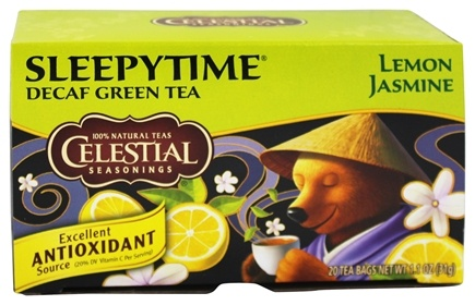 DROPPED: Celestial Seasonings - Sleepytime Decaf Lemon Jasmine Green Tea - 20 Tea Bags