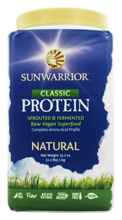 Sun Warrior - Protein Raw Vegan Natural - 2.2 lbs.